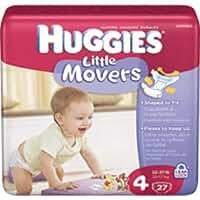 Kimberly-Clark Huggies® Little Movers Diaper Size 4, Jumbo
