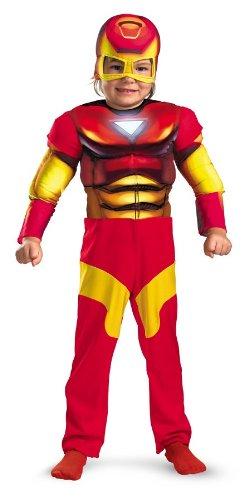 Iron Man Muscle Toddler Costume (2T) (Iron Man Costume Toddler)