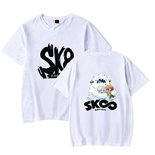 SK8 The Infinity Manga T-Shirt Anime Figure Print Tshirt Ronde Hals Korte Mouw Tshirts voor Vrouwen/mannen