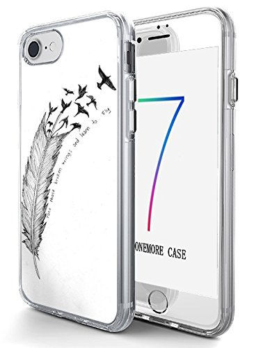 Hard Back Case Cover Shell for iPhone 7 4.7 Inch Take Those Broken Wings and Learn to Fly