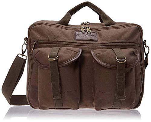 Tommy Bahama Briefcase Messenger Travel Bag, Olive