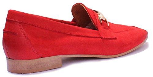 Justin Red Donna Reece Stringate Scarpe 7800 awZarq6