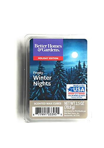 (Better Homes and Gardens Frosty Winter Nights Wax Cubes)