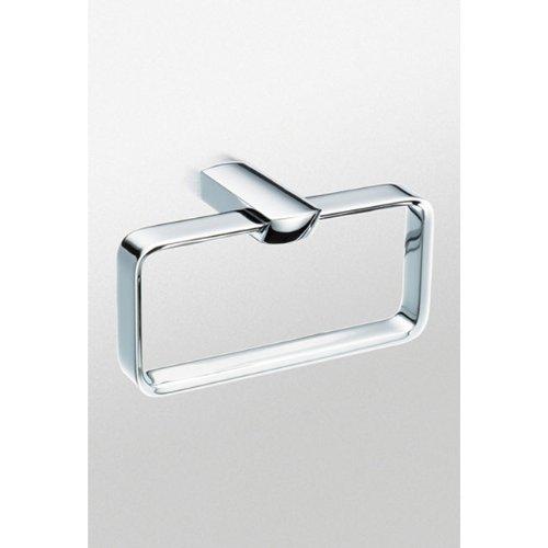 TOTO YR960#CP Soiree Towel Ring, Chrome good