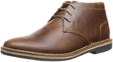 Steve Madden Men's Harken Chukka Boots, Cognac, 10 M US