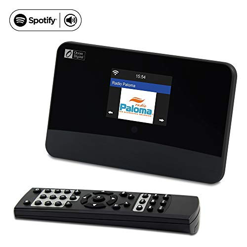 Ocean Digital WiFi Internet Radio FM Tuner Adaptor Model WR03 Spotify Bluetooth Receiver 2.8