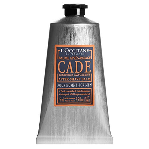 (L'Occitane Soothing Cade After Shave Balm for Men with Shea Butter, 2.5 fl. oz.)