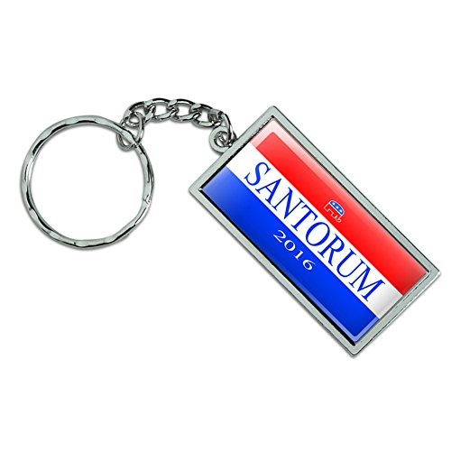 Graphics and More Santorum 2016 Republican Logo Rick Santorum for President Metal Keychain Key Chain Ring