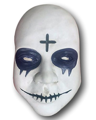 Rubber Johnnies Cross Purge Mask, Anarchy, Election, Halloween, SINLESS -