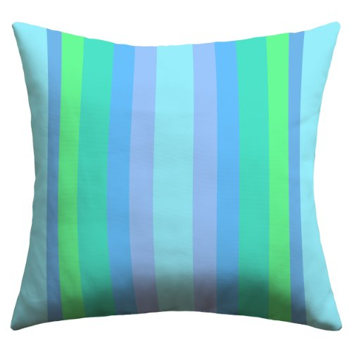 Deny Designs Lisa Argyropoulos Caribbean Cool Outdoor Throw Pillow, 26 x 26 - Caribbean Pillowcase