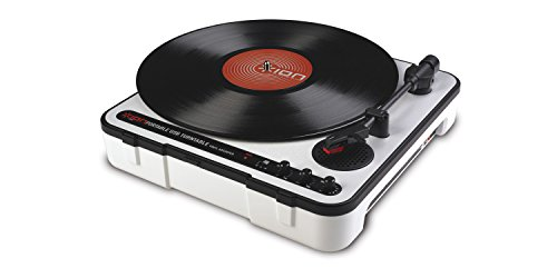 Ion Audio iPTUSB Portable USB Turntable with Software and Built-in Speaker from ION Audio