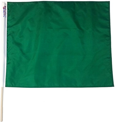 Green Start Professional Racing Flags 24 x 30