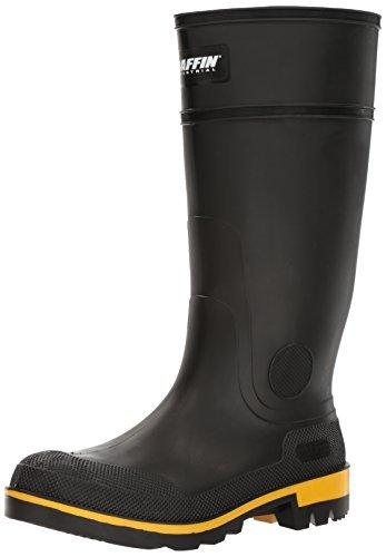 Baffin Rain Boots - Baffin Men's Maximum Work Boot,Black/Yellow/Black,9 M US
