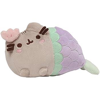 """Gund Pusheen Shell Mermaid Stuffed Cat Plush, 7"""""""
