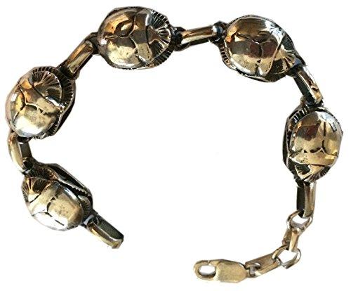 Egyptian Jewelry Silver Scarab Bracelet ()