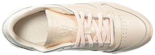 Mid Pink Reebok Zapatillas Mujer Nylon pale Classic OrwxwqZYI