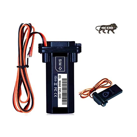 Drivool 890-IN (Make in India) GPS Tracking Device for Car/Bike/Motorcycle/SUV/Boat/Truck/Bus/Tractor/Taxi All Vehicles