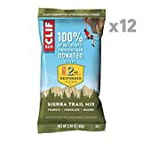 CLIF BAR, Energy Bars, Sierra Trail Mix, 2.4 Ounce Protein Bars, Pack of 12