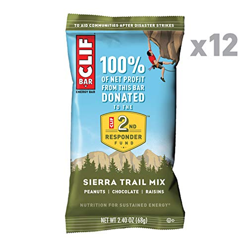 CLIF BAR Energy Bars Sierra Trail Mix 12-Count Now $6.99 (Was $15.48)