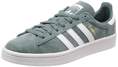 adidas Campus, Scarpe da Fitness Uomo Verde (Raw Green/Ftwr White/Crystal White Raw Green/Ftwr White/Crystal White)