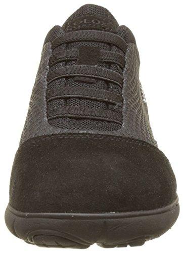 Basses Femme A Nebula Sneakers Bleu Geox Noir Black qxCztw