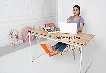 canvas foot rest desk hammock   put your foot up on the hammock under the desk amazon     canvas foot rest desk hammock   put your foot up on      rh   amazon