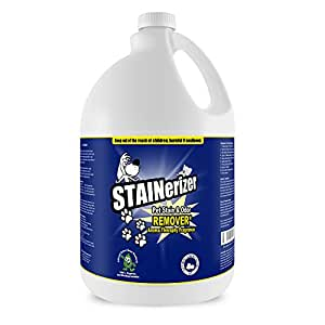 Stainerizer Best Stain Remover - Organic Dog Urine Cleaner and Cat Urine Cleaner for All Surfaces - Stainerizer Organic Pet Stain And Odor Remover by MyCleaningProducts.com