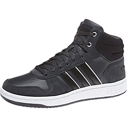 adidas Damen Hoops 2.0 Mid Basketballschuhe, Bordeaux