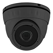 HDView 2.4MP 1080P HD-AHD Outdoor SONY Sensor Turbo Platinum Dome Camera Wide Angle 2.8mm Fixed Lens 1080P 24IR, ONLY WORK WITH HD-AHD DVR