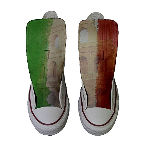 Colosseo Artesano All Star Producto Zapatos Converse Tricolore Personalizados Customized UY0fqWwp