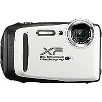 Fujifilm FinePix XP130 Waterproof Digital Camera w/16GB SD Card - White