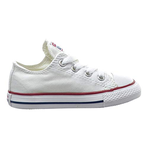 Converse Chuck Taylor All Star OX Toddler Shoes Optical White 7j256 (5 M US)