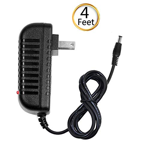 (fav-tech) OTC Tool AC DC Power Supply Charger Adapter Cord Cable for SPX Autoboss V30 Scan, LED Light, 4 FEET