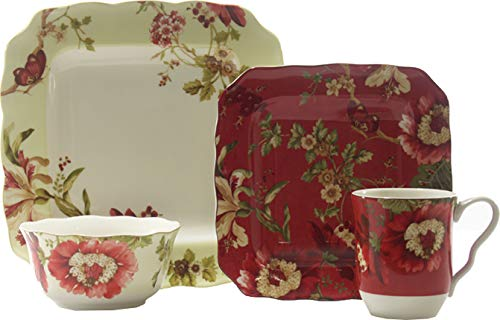 Lutece Mixed 16 Piece Dinnerware Set ()