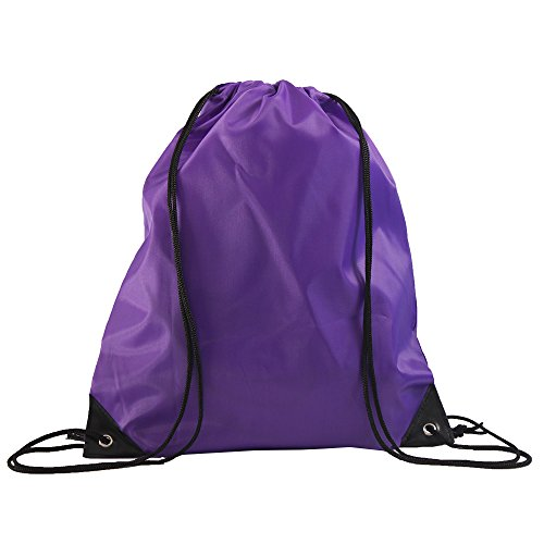 LIHI Bag 10 Pack Ripstop Drawstring Backpack,Party Favors Treat Bags,Mixed Color