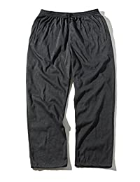 Greatrees Men's Cotton Big & Tall Fleece Sweatpants