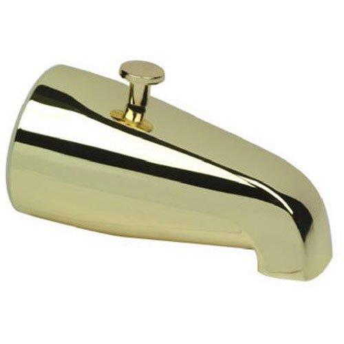 DELTA FAUCET 345-116 Master Plumber Polished Brass Diverter Tub Spout