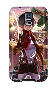 Durable Attack On Titan Back Case/cover For Galaxy S5