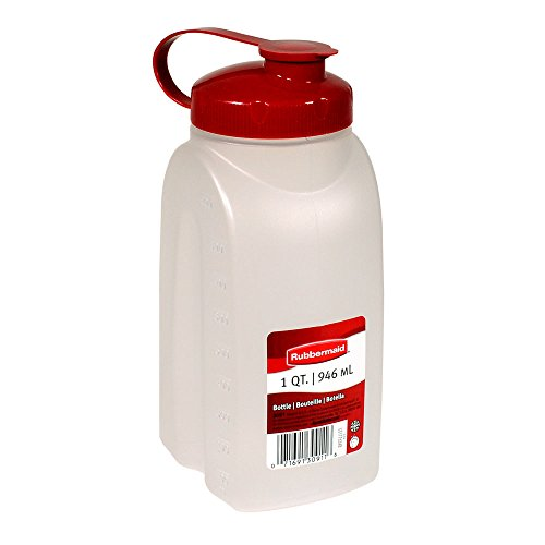 - Rubbermaid MixerMate Bottle, 1 Quart, Chili Red 1776348