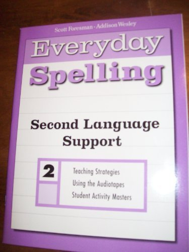 SPELLING 2000 SECOND LANGUAGE SUPPORT MASTERS GRADE 2