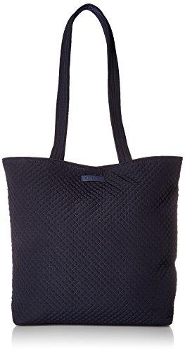 Vera Bradley Iconic Tote Bag, Microfiber,Classic Navy