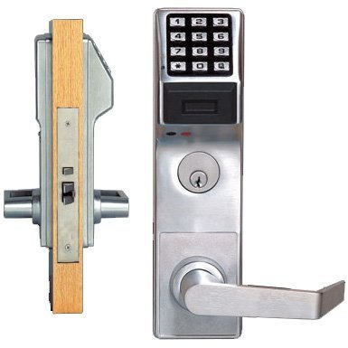 Trilogy PDL3500-26D-LH CLASSROOM Proximity Mortise Lock In Satin Chrome by Alarm Lock