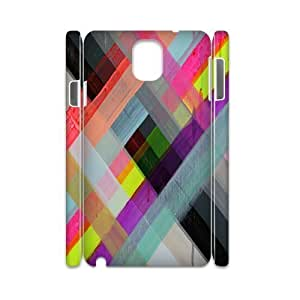 Colorful Stripes Design Customized 3D Cover Case for Samsung Galaxy Note 3 N9000,custom phone case ygtg603161