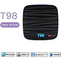 Hongtop T98 2+8G android tv box RK 3328 Android 7.1 Quad Core smart tv box
