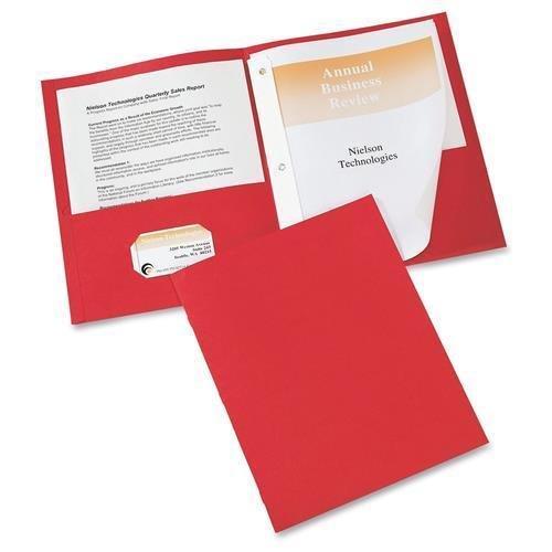 - 47979 Avery Two Pocket Folder with Fastener - Letter - 8.50