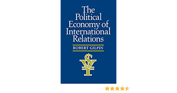 Gilpin Global Political Economy Pdf
