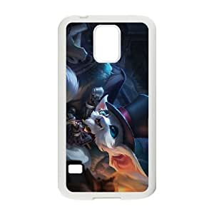 League Of Legends Gentleman Gnar Samsung Galaxy S5 Cell Phone Case White Phone Accessories JVG16264