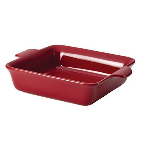 Square Dish Baker (Anolon Vesta Ceramics 9-Inch Square Baker, Paprika Red)