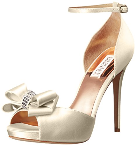 Badgley Mischka Mujeres Becky Dress Pump Ivory