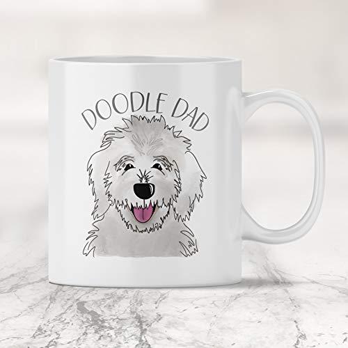 Doodle Dad Mug - White Golden Doodle -11oz Mug ()